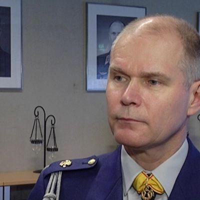 Puolustusvoimien tuleva komentaja, kenraaliluutnantti Jarmo Lindberg.