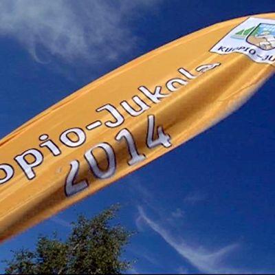 Kuopio-Jukolan banneri 2014.