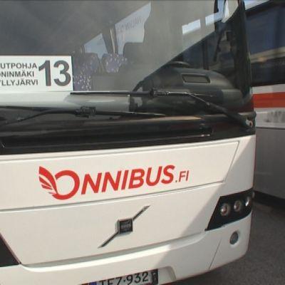 Onnibusin linja-auto.