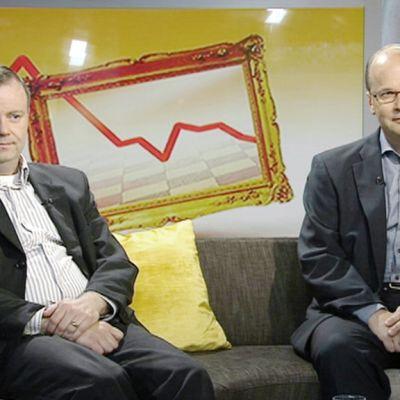 Markus Lahtinen ja Roger Wessman