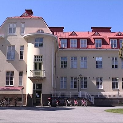 Huutoniemen sairaala Vaasassa.
