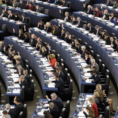 Parlamentin täysistunto Strasbourgissa 13. maaliskuuta 2012.