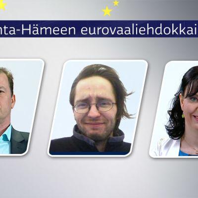 Janne Nieminen, Janne Kuisma ja Johanna Häggman