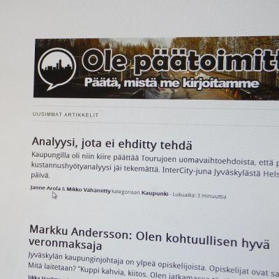 Torikokous.fi nettisivu