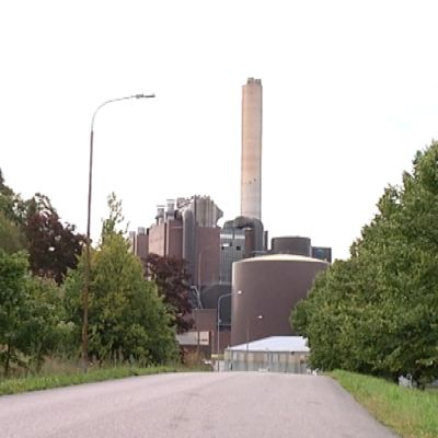 Fortumin hiilivoimala Naantalissa