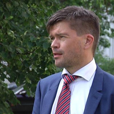 Seinäjoen seudun elinkeinokeskuksen johtaja, tuleva Jalasjärven kunnanjohtaja Juha Luukko.