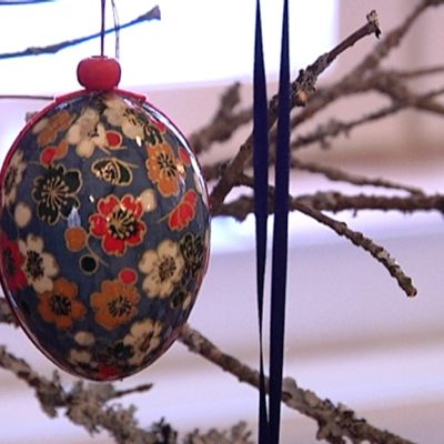 Pääsiäismuna symboloi uutta elämää.
