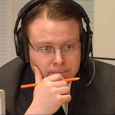 Perussuomalaisten kansanedustaja Vesa-Matti Saarakkala.