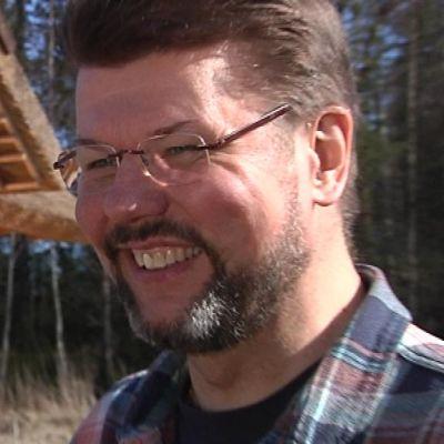 Seppo Mannermaa kehittelee ekokylää Siuntioon.