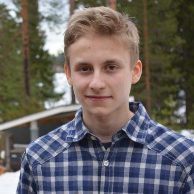 Sotkamolainen Leo Vänskä.