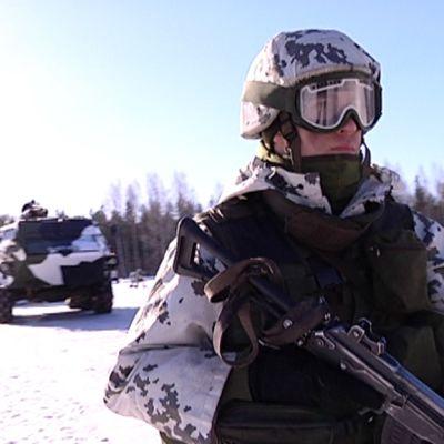 Kansainvälistä valmiusjoukkokoulutusta Säkylässä
