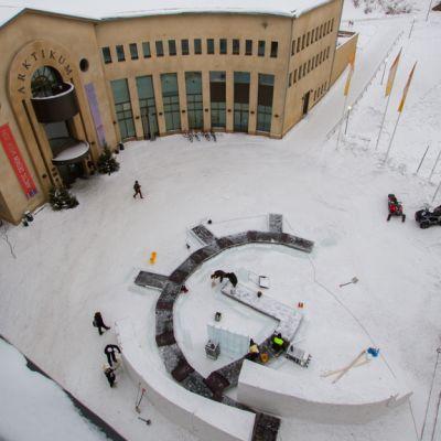 Arctic Design Week valmistumassa Arktikumin edessä
