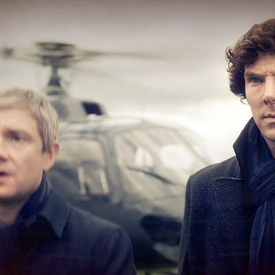 Kuva sarjasta Sherlock.
