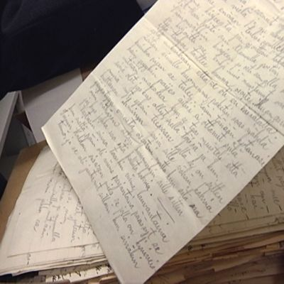 Rintamalta lähetetty kirje