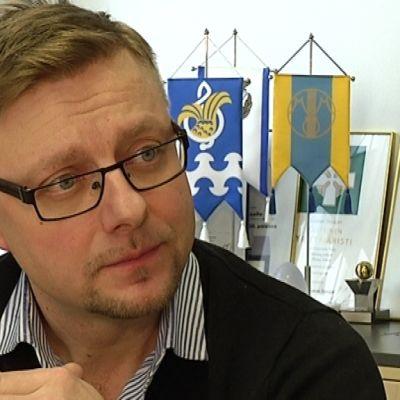 Takuusähkö Oy:n toimitusjohtaja Tommi Valtonen