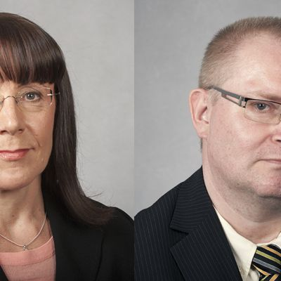 Pirkko Ruohonen-Lerner ja Jari Lindström
