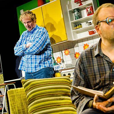 Jari Liukkonen ja Vesa-Matti Komonen