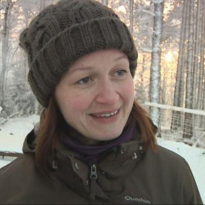 Projektipäällikkö Kati Vähäsarja Metsähallituksesta.