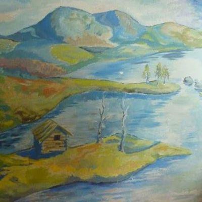 Timo K. Mukka seinämaalaus