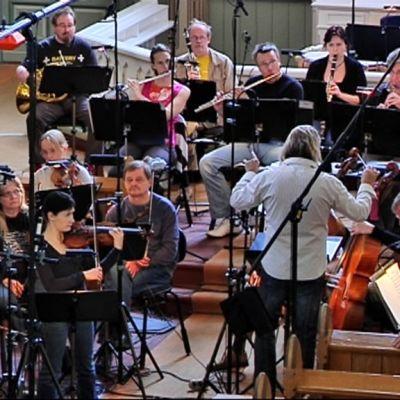 Jyväskylä Sinfonia levytyksessä Hankasalmen kirkossa