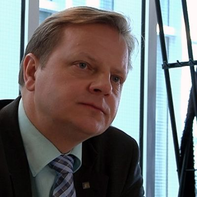 Kansanedustaja Lasse Hautala