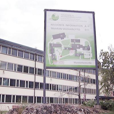 THL:n Helsingin toimipiste.