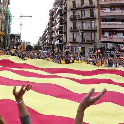 Katalonian epävirallinen lippu