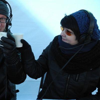 Mikko Maasola ja Heli Kaski
