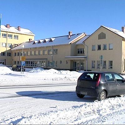 Yrkesakademin i Österbotten Wolffintiellä Vaasan Palosaarella