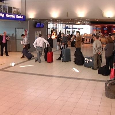 Turun lentokenttä lähtöselvitys