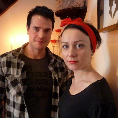 Susanna Erkinheimo ja Ari Puro