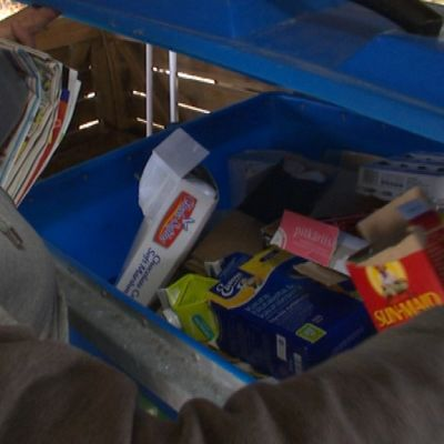 Jäte kierrätys kartonki Imatra taloyhtiöt