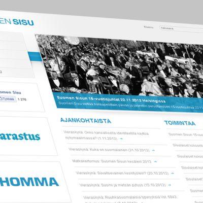 Kuvakaappaus Suomen Sisun nettisivuilta.