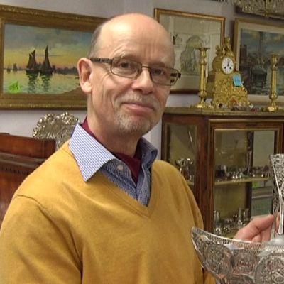 Antiikkikauppias Hans Tritzschler