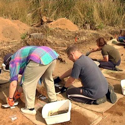 Kaivaukset ovat laajentuneet huomattavasti viime kesästä