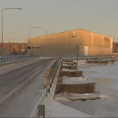 Valajaskosken voimalaitos sijaitsee Rovaniemeltä n. 10 km Kemiin päin
