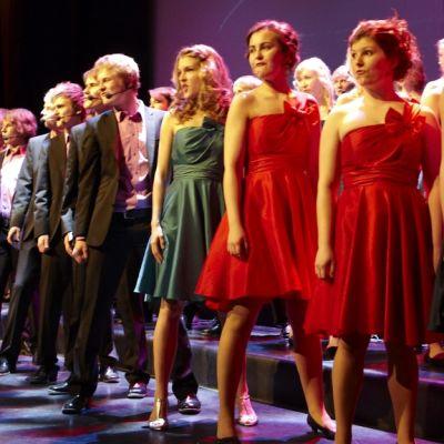 Kuopion Nuorisokuoron kevätkonsertti toukokuussa 2010.