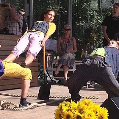 Clunker Circus: Saana Peura, Jori Reunanen, Rasmus Witikka