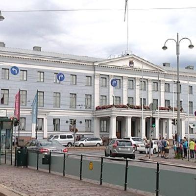 kuvassa Helsingin kaupungintalo