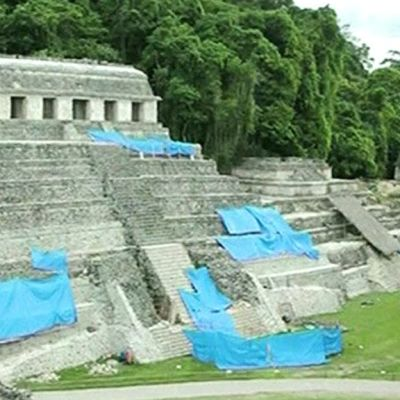 Mayojen temppeli.