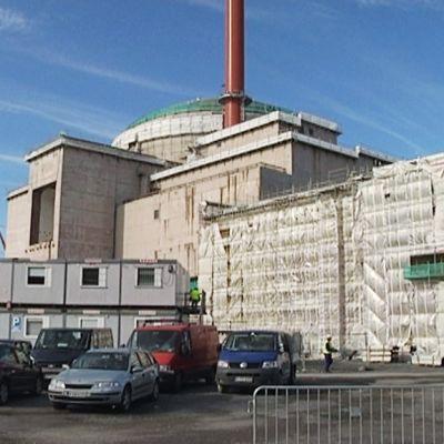 Olkiluodon kolmas ydinvoimalayksikkö syksyllä 2012.