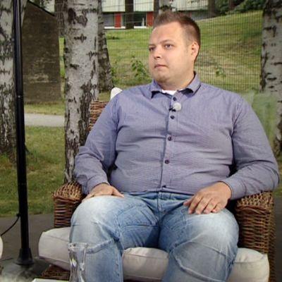 Pekka Aaltonen (vas,) ja Joona Leppänen