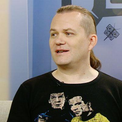 Eskon vieraana on Star Trek -fani, sarjakuvataiteilija Petri Hiltunen.