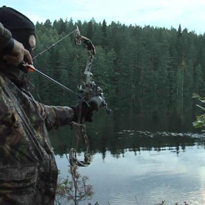 jousi taljajousi metsästäjä majavajahti sulkava mustikkalampi elokuu