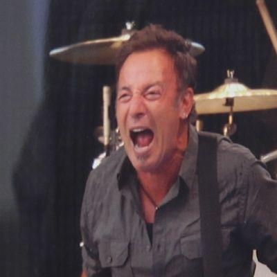 Riku Olkkosen valokuva Bruce Springsteenistä.
