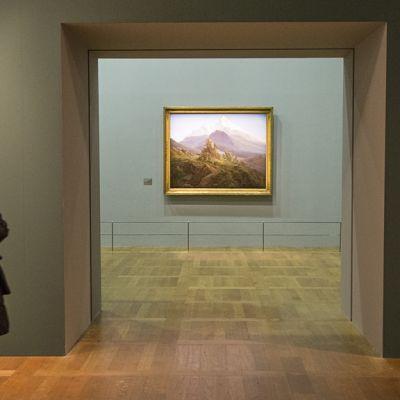 Louvre sisäkuvaa