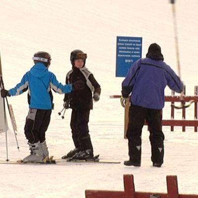 Simpsiön hiihtokeskus.