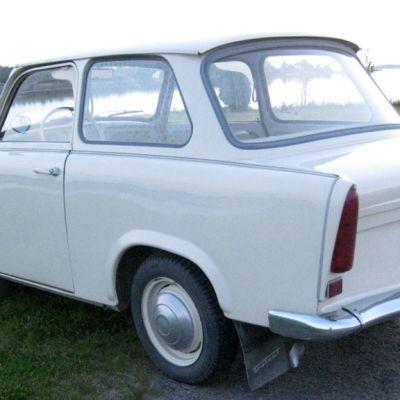 Janita Jutilan kesäautona on Trabant vuosimallia 1965.