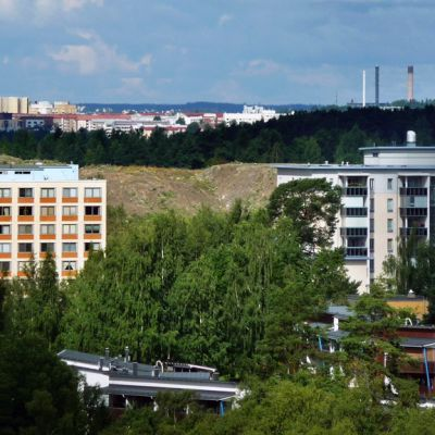 Kaukajärven kaupunginosa Tampereella.
