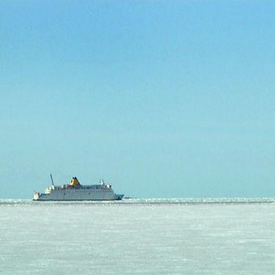 M/S Wasa Express matkaa kohti Uumajaa.